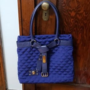 Blue Marc Jacobs Quilted Bag
